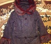 Зимняя куртка,  плащи,  шапка