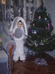Новогодние костюмы зайчика, гнома, петрушки, новый год, пират, лисичка, снежинка, конфетка, фея(прокат)