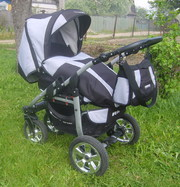 Детская коляска Riko Amigo 2в1 б/у 1 год,  в отличном состоянии