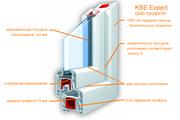 Недорогие окна ПВХ и двери ПВХ. Окна KBE,  окна Rehau,  окна VEKA.