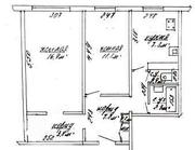 Продам 2-ух комнатную квартиру  ул.Гагарина 13