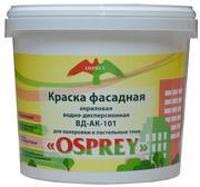 Краска фасадная акриловая водно-дисперсионная «OSPREY» - ВД-АК-101
