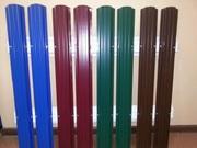 Металлический штакетник для забора от производителя в Жодино